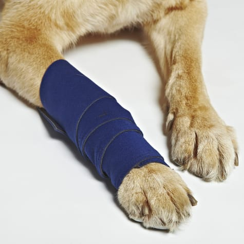 HEALERS Medical Leg Wraps with Gauze Pads