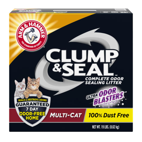 Arm & Hammer Clump & Seal Multi-Cat Odor Sealing Cat Litter
