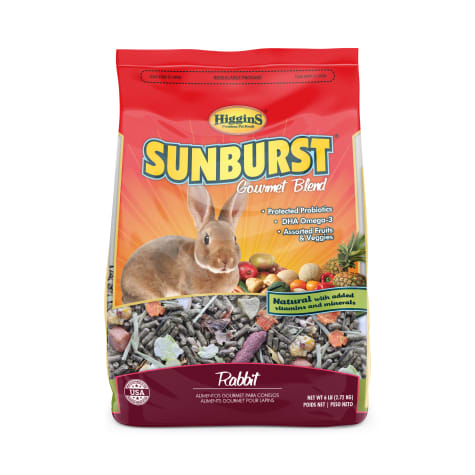 Higgins Sunburst Gourmet Rabbit Food Mix