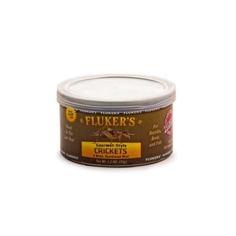 Fluker's Gourmet Style Crickets Reptile Food