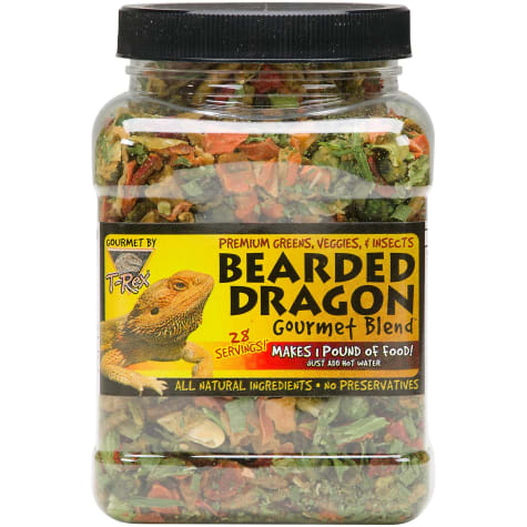 T-Rex Bearded Dragon Gourmet Food Blend