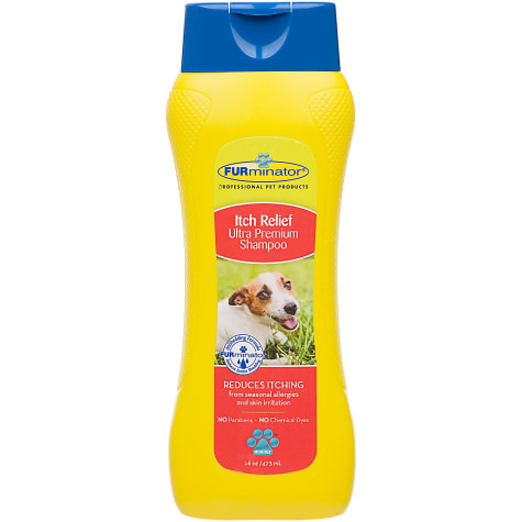 FURminator Itch Relief Ultra Premium Dog Shampoo