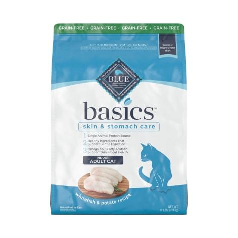 Blue Buffalo Blue Basics Adult Grain-Free Fish and Potato Recipe Dry Cat Food