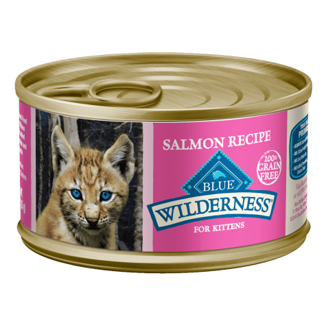 Blue Buffalo Blue Wilderness Kitten Salmon Recipe Wet Cat Food