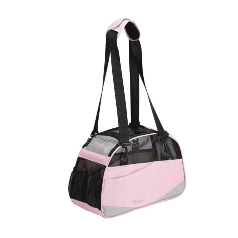 Bergan Voyager Pet Carrier in Pink & Gray