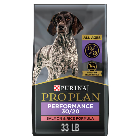 Purina Pro Plan High Protein Sport Performance 30/20 Salmon & Rice Formula Dry Dog Food