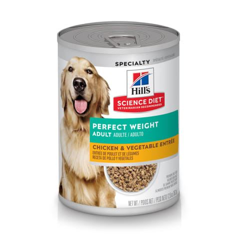 Hill's Science Diet Adult Perfect Weight Chicken & Vegetable Entree Canned Dog Food