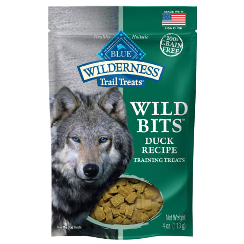 Blue Buffalo Blue Wilderness Trail Treats Duck Wild Bits Dog Treats