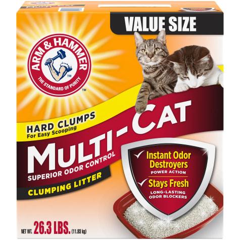 Arm & Hammer Multi-Cat Superior Odor Control Scented Clumping Cat Litter