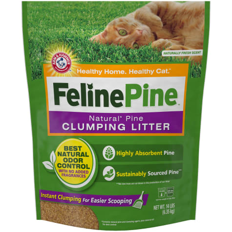 Feline Pine Natural Clumping Cat Litter