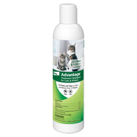 Advantage Flea & Tick Treatment Shampoo for Cats & Kittens