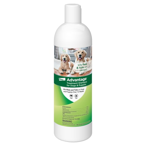 Advantage Flea and Tick Treatment Shampoo for Dogs