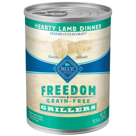 Blue Buffalo Blue Freedom Grain-Free Grillers Lamb Wet Dog Food