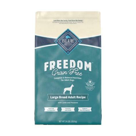 Blue Buffalo Blue Freedom Grain-Free Large Breed Adult Lamb Recipe Dry Dog Food