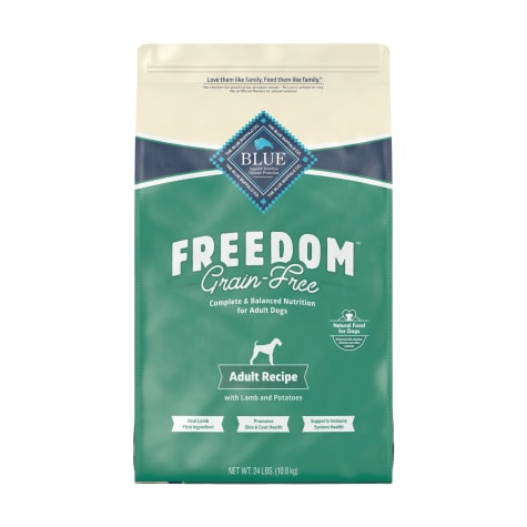 Blue Buffalo Blue Freedom Grain-Free Lamb Recipe Dry Food For Adult Dogs