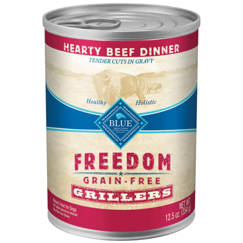 Blue Buffalo Blue Freedom Grain-Free Grillers Beef Wet Dog Food