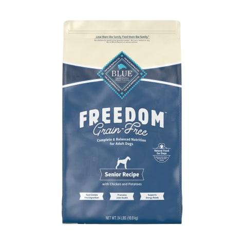 Blue Buffalo Blue Freedom Grain-Free Senior Chicken Recipe Dry Dog Food