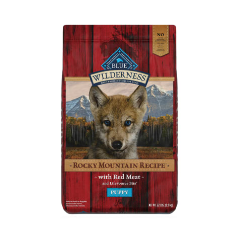 Blue Buffalo Blue Wilderness Rocky Mountain Recipe Puppy Red Meat Dinner Dry Dog Food