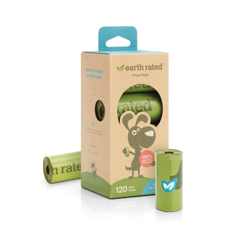 Earth Rated PoopBags 120 Unscented Refill Bags