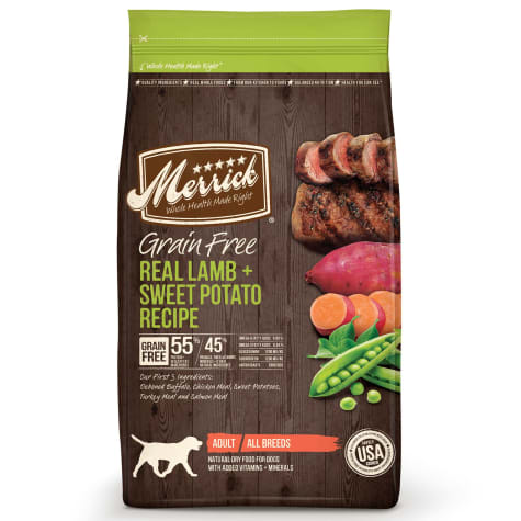 Merrick Grain Free Real Lamb + Sweet Potato Dry Dog Food