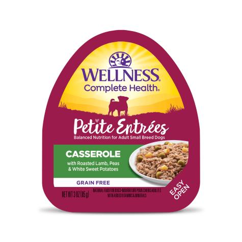 Wellness Petite Entrees Casserole Grain Free Roasted Lamb, Peas & Sweet Potatoes Wet Dog Food