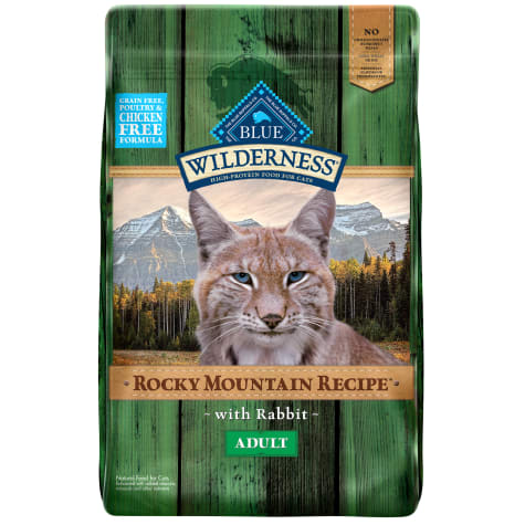Blue Buffalo Blue Wilderness Rocky Mountain Recipe Adult Rabbit Dry Cat Food