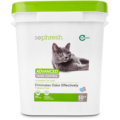 So Phresh Advanced Odor Control Scoopable Fragrance Free Cat Litter