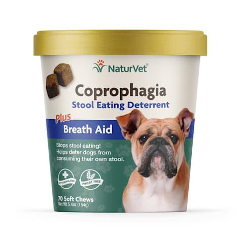 NaturVet Coprophagia Stool Eating Deterrent Dog Chews