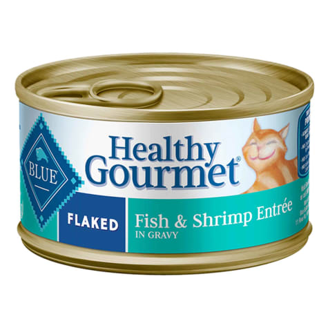 Blue Buffalo Blue Healthy Gourmet Flaked Fish & Shrimp Entree Wet Cat Food