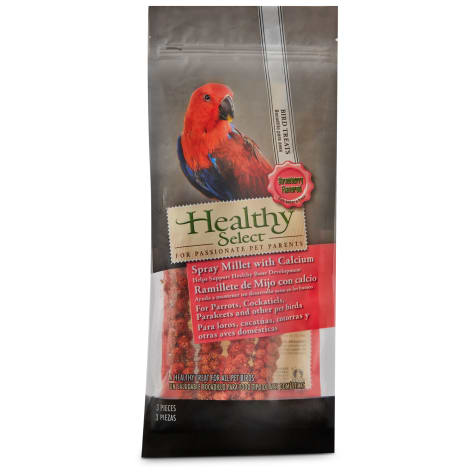 Healthy Select Spray Millet Strawberry Bird Treats