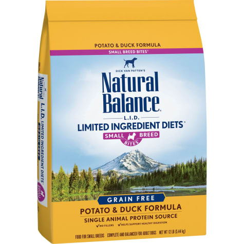 Natural Balance L.I.D. Limited Ingredient Diets Grain-Free Small Breeds Potato & Duck Formula Dry Dog Food