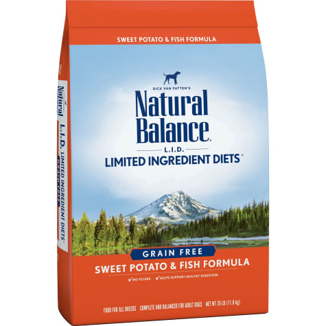 Natural Balance L.I.D. Limited Ingredient Diets Sweet Potato & Fish Formula Dry Dog Food