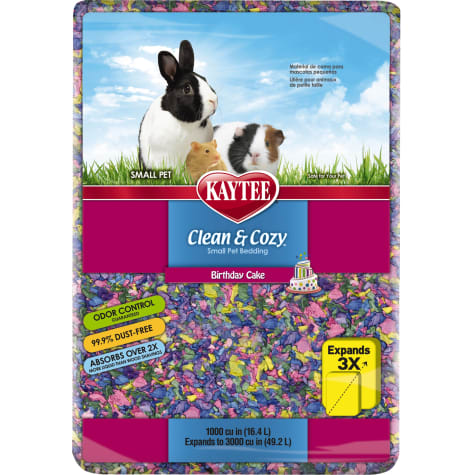 Kaytee Clean & Cozy Birthday Cake Small Animal Bedding