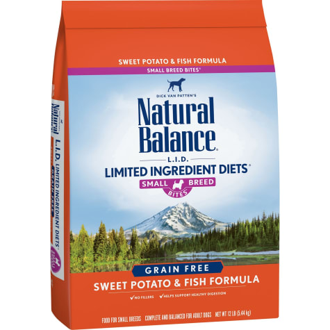 Natural Balance L.I.D. Limited Ingredient Diets Grain Free Small Breeds Sweet Potato & Fish Formula Dry Dog Food