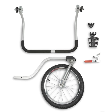 PetSafe Happy Ride Gray Dog Stroller Kit