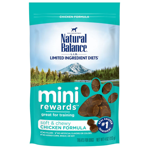 Natural Balance Mini Rewards Chicken Formula Dog Treats