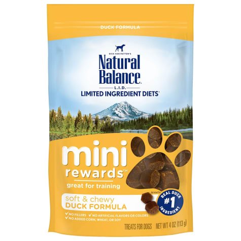 Natural Balance Mini Rewards Duck Formula Dog Treats