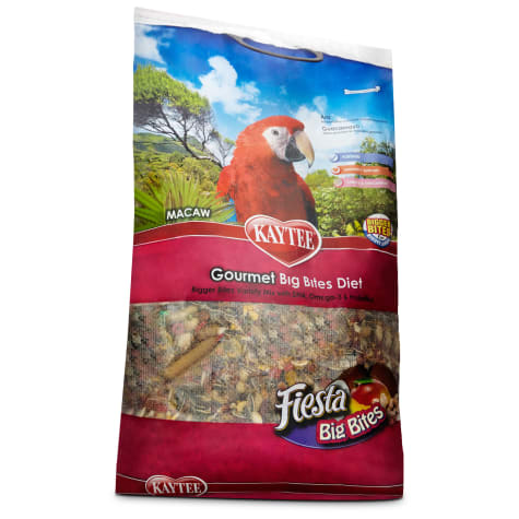 Kaytee Gourmet Big Bites Macaw Food