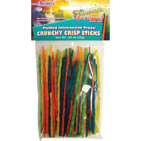 Brown's Tropical Carnival Crunchy Crisp Bird Treat Sticks