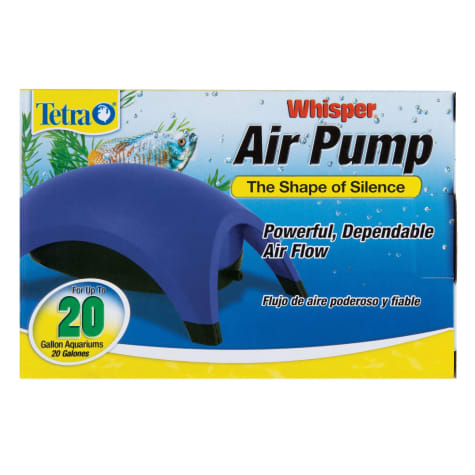 Tetra Whisper Aquarium Air Pump for 20 gallon Aquariums