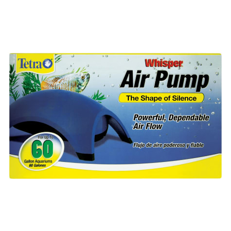 Tetra Whisper Aquarium Air Pump for 60 gallon Aquariums