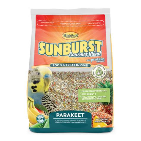 Higgins Sunburst Gourmet Food Mix for Parakeets