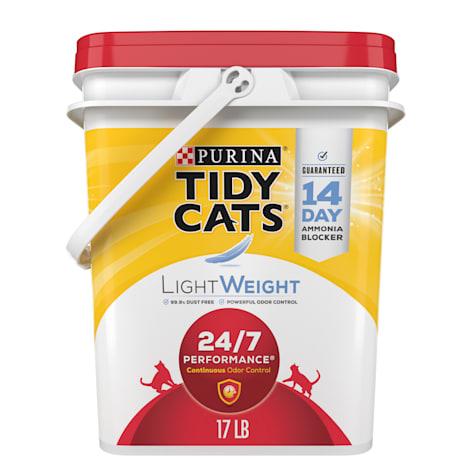 Purina Tidy Cats LightWeight 24/7 Performance Dust Free Clumping Multi Cat Litter