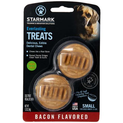 Starmark Everlasting Bacon Dog Dental Chew, 2 Count