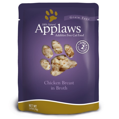 Applaws Chicken Breast in Broth Pouch Grain Free Cat Food