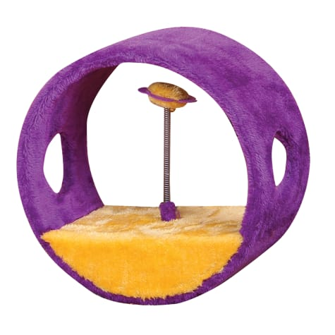 PetPals Vortex - Purple and Orange Ring Teasing Balls Toy