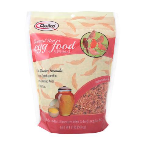 Quiko Special Red Egg Food Red Factor Bird Supplement