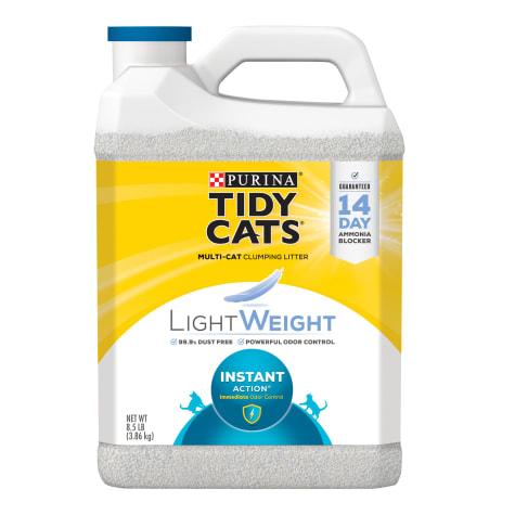 Purina Tidy Cats LightWeight Instant Action Dust Free Clumping Multi Cat Litter