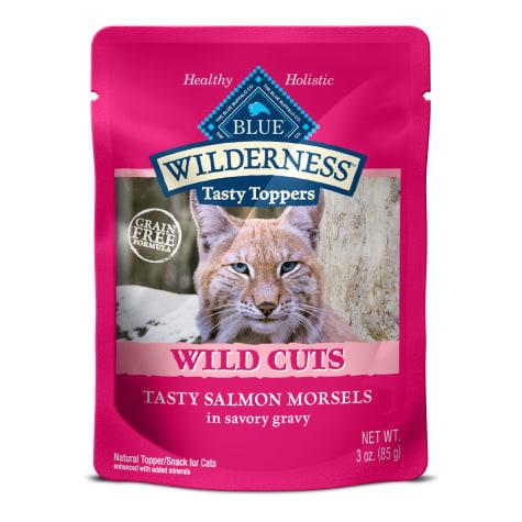 Blue Buffalo Blue Wilderness Wild Cuts Tasty Salmon Morsels Wet Cat Food