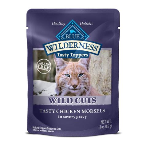 Blue Buffalo Blue Wilderness Wild Cuts Tasty Chicken Morsels Wet Cat Food